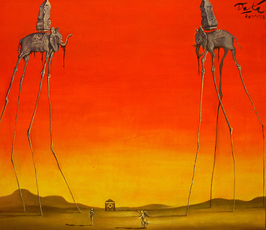 "Dali ""Elephants"" coply"
