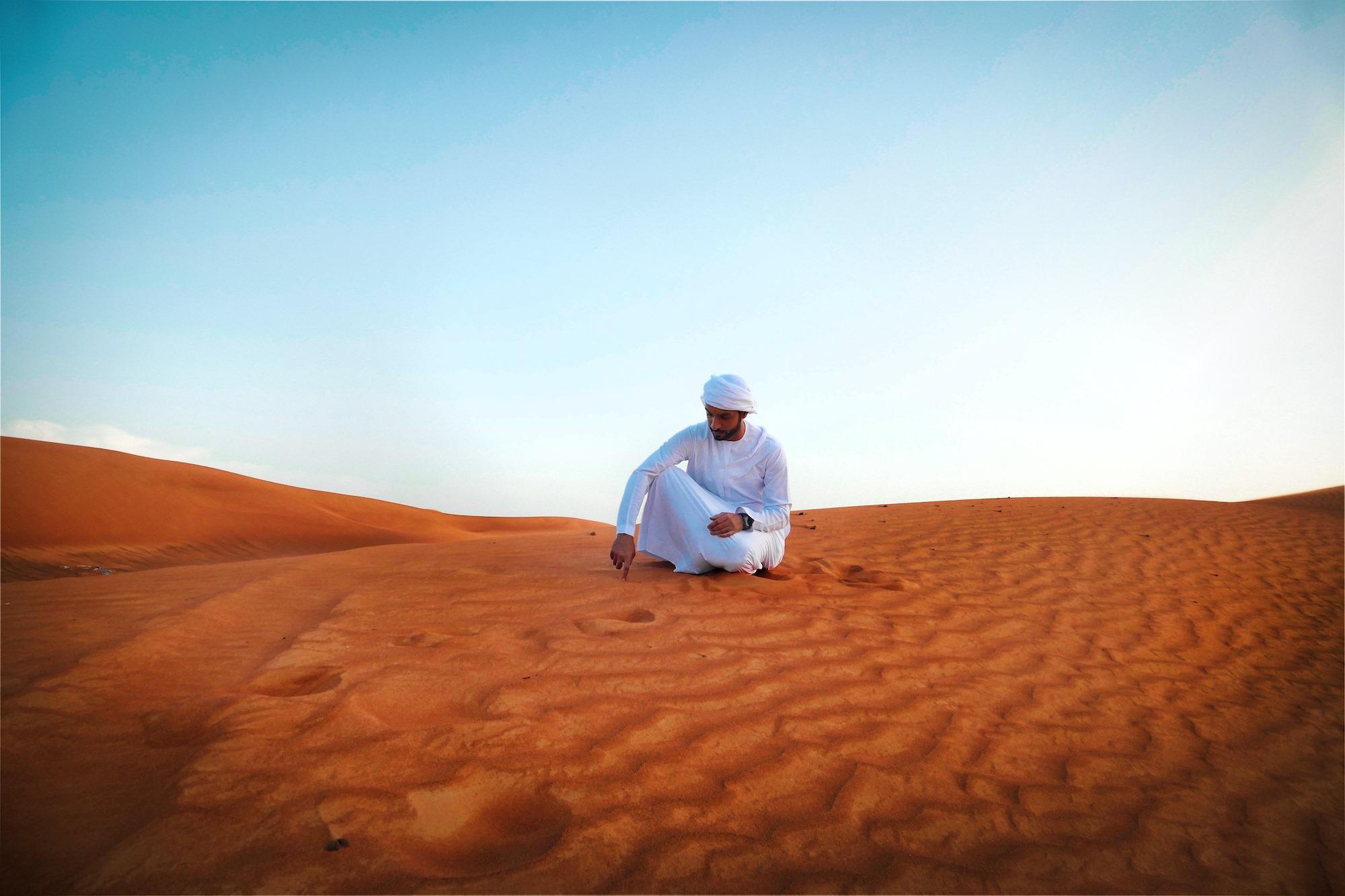 Man in the Desert – 02